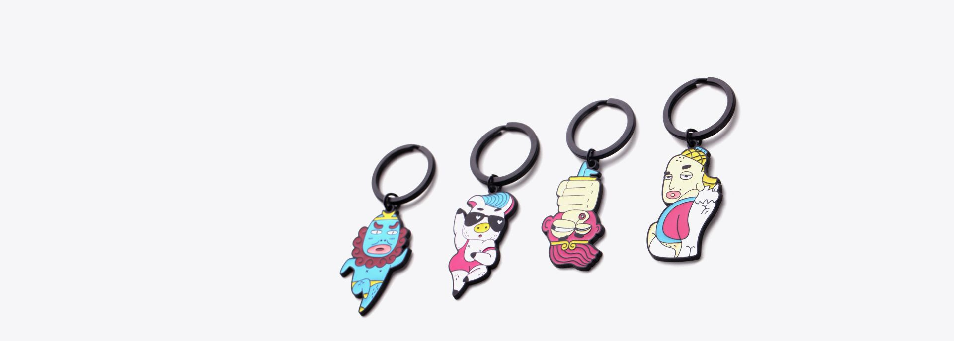 JOURNEY To the west key-ring