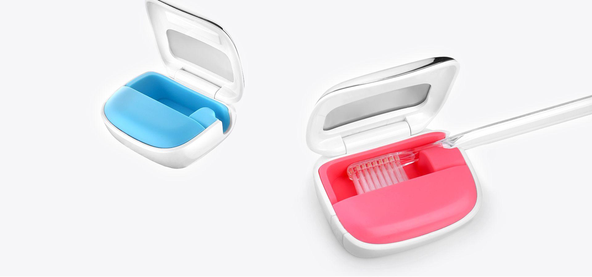 便携式消毒牙刷盒